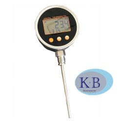 Al Zonne Digitale Industriële Thermometer van het Roestvrij staal de Thermometers van Elke Hoek