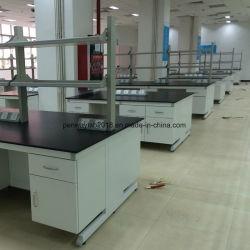 Laboratório de alta qualidade mobiliário de aço Banco Insular