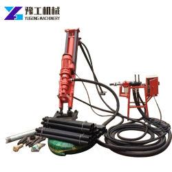 手動で簡単に操作できる採掘機械 DTH ドリリング機械