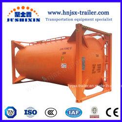 고품질 26000L 대량 시멘트 또는 가루 또는 석탄 또는 고약 또는 리튬 Hexafluorophosphate/Plasticsgranules ISO 저장 탱크 콘테이너