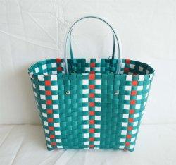 [بّ] متسوّقة حقيبة يد يحاك [شوبّينغ بغ] بلاستيكيّة