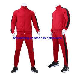 De aangepaste Bovenkledij van het Embleem voor Mensen Kostuum van het Team van de Slijtage van Dame Sets Sport Running Training het Aanstotende Gymnastiek