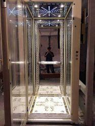 زجاجيّة باب لوح بطاقة مصعد