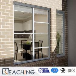 Un design moderne UPVC/PVC Hung en plastique à fenêtre fenêtre en verre de pivotement