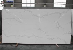 Comités van de Muur van de Steen van Faux van de Douche van Calacatta de Witte