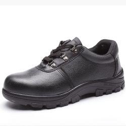 OEM/ODM سعر جيد PU مزدوج الكثافة الصلب Toe الأصلي أحذية السلامة الصناعية المقاومة للماء من الجلد