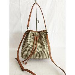 Großhandelsfrauen-sackt faltbarer EinkaufenTote Convas Handtaschen-Fonds 2020 mit Firmenzeichen ein