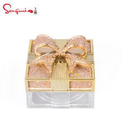 Popular formato exclusivo Customized Portable Container Cosméticos Makeup tampa roscada de plástico vazias em pó solto caso