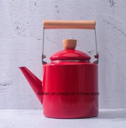 Красный цвет эмаль чайник/кофейник