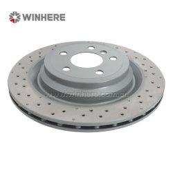 pièces de rechange automatique du rotor de frein arrière pour MERCEDES-BENZ ECE R90