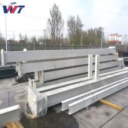 Изготовление оцинкованных лампа Prifabricated Strong стальной сварной конструкции со стороны для склада