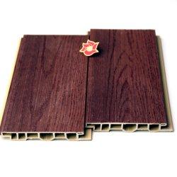 Het houten Plastic Samengestelde Comité van de Muur van de Bekleding WPC Decoratieve Binnen