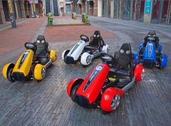 Elektrische Baby met 4 wielen van het Stuk speelgoed van de Motor van kinderen gaat de MiniKarts
