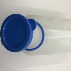Wegwerpbare medische 1000 ml mannenplastic urinaal met dop/deksel