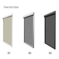 Nagelneues Aluminiumprofil 2020 für doppelten Reißverschluss-Spur-Rollen-Vorhang-Innenstromausfall