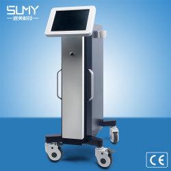 Goldenes Microneedle leistungsfähiges Bruch-HF-Gerät für Akne, Knicken-Abbau-Salon-medizinische Schönheits-Maschine