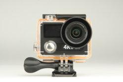 H8RS het Duiken van het Scherm van de Camera de UltraHD 4K WiFi 1080P van de actie Dubbele Waterdichte VideoOpname die van de Nok van de Helm van Sporten DV Camcorder ontspruiten