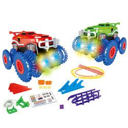 電気手段に上る車はもてあそぶB/Oのおもちゃのスロットカー(10315335)を