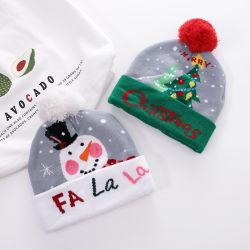 2020 Стоковая Санта Рождество трикотажные Cute шляпы крышки