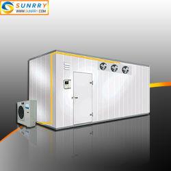 Unidade de refrigeração comercial mais fria e sala de frio com aquecimento