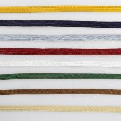 Flaches Gewebe-Großhandelsband-kundenspezifisches Baumwollnetzkabel-Sport-gewebtes Material