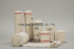 Curativos médicos Crepe descartáveis bandagem elástica Medical ISO13485 Aprovado
