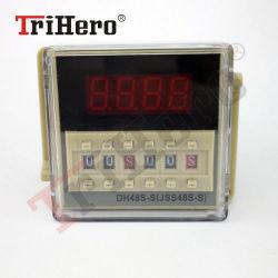 Dh48s-S 타임 딜레이 릴레이 0.1s-99 시간 디지털 쌍둥이 타이머