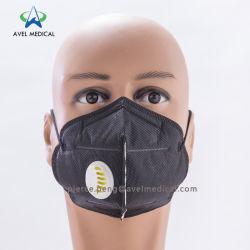 Masque anti-poussière chirurgical Masque non tissés jetables face à la poussière de papier filtre masque masque N95 de la bouche de la poussière de la poussière Masque Plié avec/sans valve Pm 2,5 Masque antipoussière