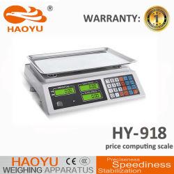 가격 벤치 가늠자 3kg를 세는 Haoyu 전자 디지털