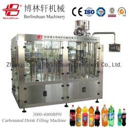 De automatische Fles van het Huisdier carbonateerde Frisdrank het Vullen van Co2 van de Dranken van het Gas van de Drank van het Sodawater de Vloeibare Bottelende Installatie van de Verpakking van de Etikettering (CGFD18186)