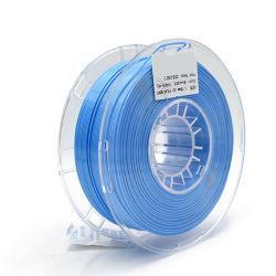 Impresora 3D de filamentos de seda azul la sensación de textura 1kg brillo PLA Los materiales de impresión 3D