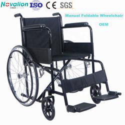 Silla de ruedas Manual del fabricante plegable/plegable Económico silla de ruedas con CE ISO DE LA FDA