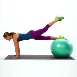 Sfera fisica dell'equilibrio di terapia di massaggio della versione della piccola sfera di esercitazione di stabilità di allenamento di ginnastica di forma fisica del PVC della sfera di yoga di Pilates