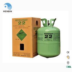 El gas refrigerante R22 R410A R R407c404A en China