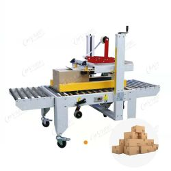 Machine à sceller machine d'emballage alimentaire boîte en carton<br/> machine à emballer automatique avec emballeur, Erector de carton, machine à étiqueter, ligne de convoyeur, palettiseur