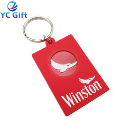 cheap Custom Sublimation Blank PVC Personalized Key Chains Fashion Hipster Funny Plastic Keyrings Company 기업 활동 공상 품목을%s 선전용 선물 키 측정기