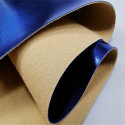 La superficie metálica Caja de regalo de la bolsa de zapatos de cuero de PVC de uso