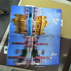 La superficie de impresión digital de los paneles de revestimiento de aluminio