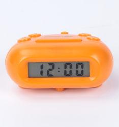 De mini LCD Klok van de Reis met Blauwe Backlight