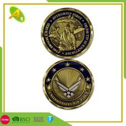 [2د/3د] معدن أثر قديم نحاسة نوع ذهب عسكريّة تذكاريّة تحدي عملة بيع بالجملة نمو عملة لأنّ شرطة عسكريّة (367)