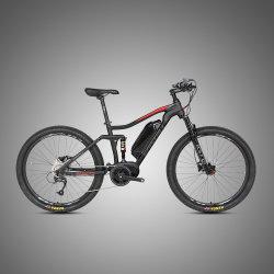 Commerce de gros pneus 350W Fat suspension totale de bicyclettes de montagne Vélo électrique