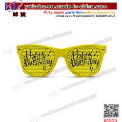 Regalo de Cumpleaños Fiesta de boda al por mayor de los productos promocionales productos gafas de parte (B1005)