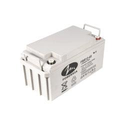 12V65 de la fábrica de silicio Ah batería recargable de Baja autodescarga cable libre de mantenimiento de la AICD Batería solar