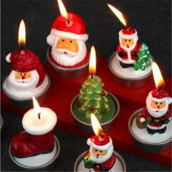 Fontes de Natal Hotel Restaurante Layout da cena decorações de Natal Velas de Natal