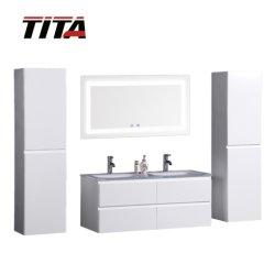 Новый стиль лаком LED ванную комнату мебель T9319
