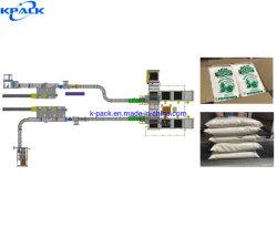 Sachet de poudre de riz complet automatique et sac d'emballage en carton de la production La ligne de conditionnement