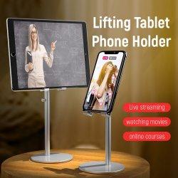 حامل الهاتف المحمول العالمي حامل الحامل للكمبيوتر اللوحي والهاتف الذكي دعامة التثبيت لحامل الحامل المحمول لجهاز iPad
