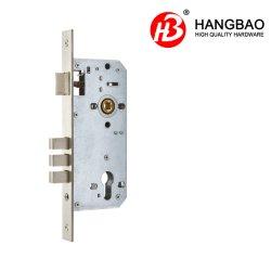Porte en acier inoxydable standard européen 8550 de la sécurité Backset 50mm Fer Zinc vis de loquet de blocage encastrées Corps en laiton Accessoires de portes 8511-50-3f (carré et le roulement)
