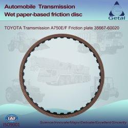 Toyota-Übertragung A750e/F (2003-ON) 5 Geschwindigkeit Rwd Friktions-Platte (35667-60020)