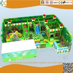Мягкая игровая площадка оборудование для использования внутри помещений Naughty замок игры для детей